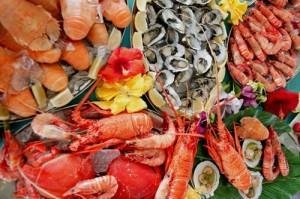 Crustacean lobster shrimp